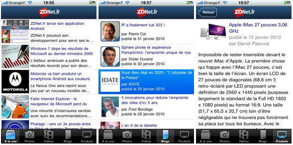 application-iphone-zdnet-fr
