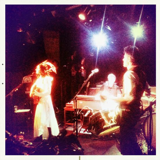 PJ Harvey en concert à La Maroquinerie