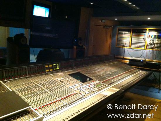 La console SSL 96 pistes du studio 3, à Abbey Road