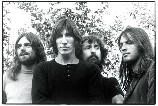 Pink Floyd le 1er juin 1972. Photo : Storm Thorgerson