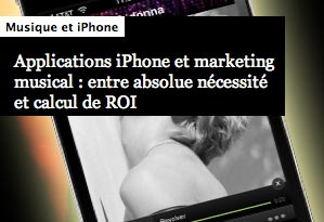 marketing musical iphone