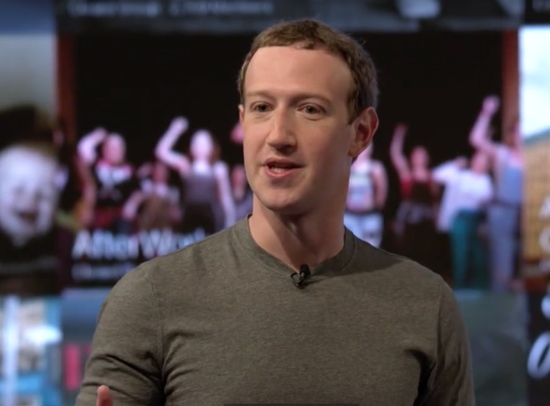 mark zuckerberg 2017